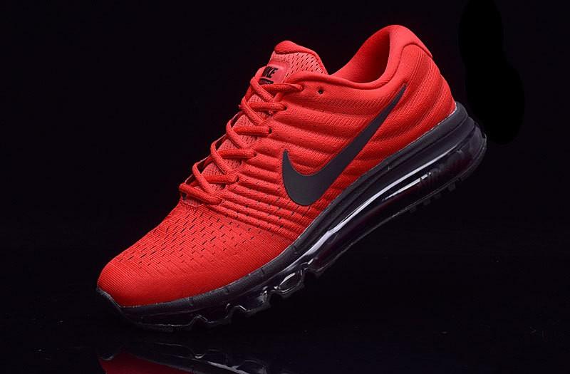 Air 2017 Rojo Formadores Nike Negro De Color Zapatillas Max Yf6bgy7