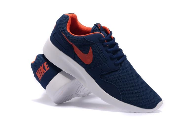 new product 5e77b 43eff Zapatos de la zapatillas Nike Roshe Run para hombre Midnightazul naranja- rojo