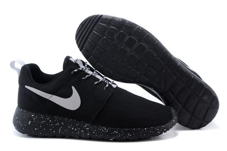 baratas Nike Roshe Run negrozapatos tenis blancos
