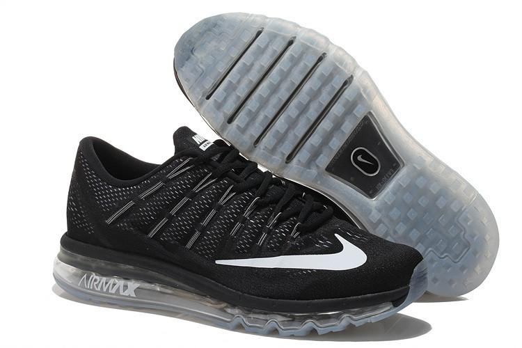 baratass Nike Air Max 2016 zapatillas de deporte negras ...