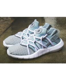 """Nike Air Huarache NM zapatillas de deporte """"blanco gris"""" gris azul/alice"""