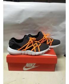 "Nike Air Huarache NM ""veneno verde"" hombre zapatos negro y naranja formadores"
