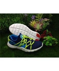 Nike Air Huarache para hombre azul marino/azul cielo zapatillas de deporte/fluo