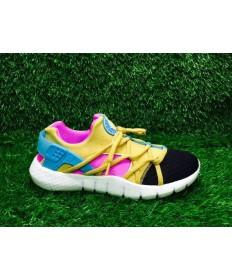 Nike Air Huarache, para hombre/zapatillas de deporte rpse/azul/amarillo negro