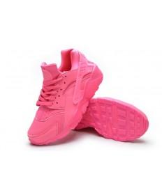 salmón Nike Air Huarache Luz zapatos formadores de color rojo para las mujeres