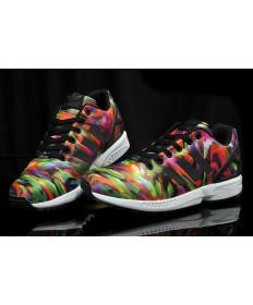 Adidas ZX Flux las zapatillas de deporte colorido Graffiti