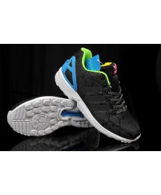 Adidas ZX FLUX zapatillas de deporte los ceniza negro/azul