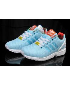Adidas ZX Flux mujer trainers ligeroskyazul