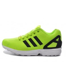 zapatos de Adidas ZX FLUX Yelbaratasverde/negro