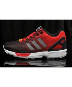 """Adidas ZX Flux zapatillas de deporte """"reflexivas"""" rojos"""