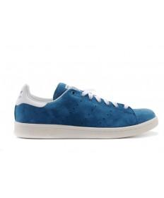 zapatos formadores de Adidas Stan Smith Steelazul