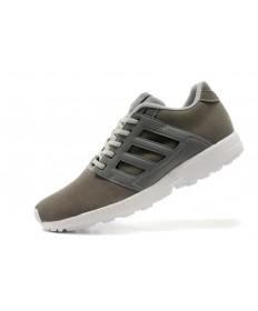 Adidas ZX Flux 2.0 zapatos de gamuza amortiguación Slategray/oscuroGray hombre