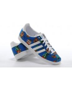 Adidas zapatillas de deporte gacelas royalazul para las mujeres