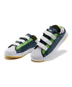 Adidas Superstar Summer Breathe hombre Cadetazul/blanco/limeverde Zapatos de la zapatillas
