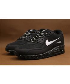 Nike Air Max 90 zapatillas de deporte negro formadores