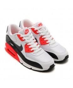 Nike Air Max 90 zapatillas de deporte blanco-naranja