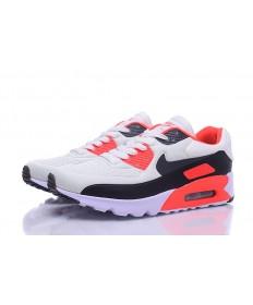 Nike Air Max 90 Zapatos de la zapatillas de color naranja-blanco-negro