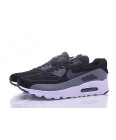 Nike Air Max 90 instructores zapatillas de deporte negro-gris