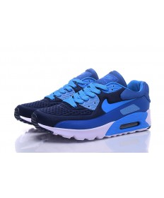 Nike Air Max 90 zapatos azul cian-real