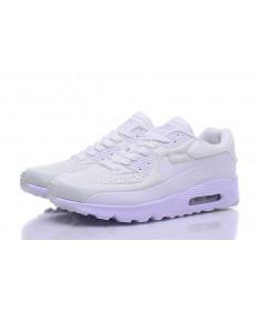 Nike Air Max 90 Zapatos de la zapatillas de color beige-blanco