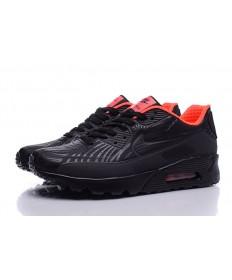 Nike Air Max 90 zapatillas de deporte negro-naranja