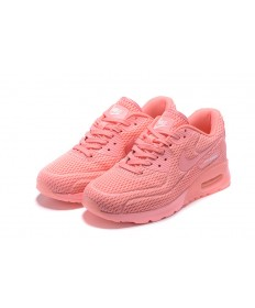"Nike Air Max 90 ""platino puro"" no tripuladas zapatillas de color rosa"