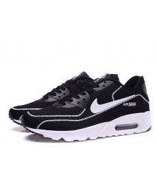 Nike Air Max 90 luciérnagas formadores negro-blanco