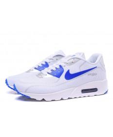 Nike Air Max 90-blanco luciérnagas azules Zapatos de la zapatillas
