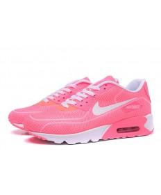 Nike Air Max 90 luciérnagas formadores de color rosa-blanco