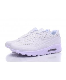 Nike Air Max 90 MOIRE ULTRA formadores de color beige-blanco zapatillas de deporte