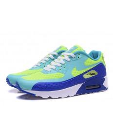 Nike Air Max 90 HYP PRM luz del cielo azul Día de la Independencia-fluo-real zapatos azules formadores