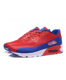 Nike Air Max 90 HYP PRM Día de la Independencia de color rojo-azul royal zapatos formadores