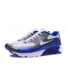 NIKE AIR MAX 90 HYP PRM Día de la Independencia gris oscuro-blanco-azul real formadores zapatillas de deporte