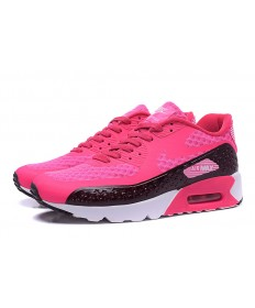 NIKE AIR MAX 90 HYP PRM Día de la Independencia de las zapatillas de deporte de color rosa oscuro-negro
