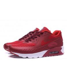NIKE AIR MAX 90 HYP PRM Día de la Independencia las zapatillas de deporte de color rojo oscuro-marrón
