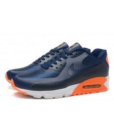 NIKE AIR MAX 90 HYP PRM zapatos de color azul marino-negro-naranja