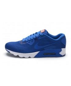 Nike Air Max 90 zapatos suaves azul marino para hombre