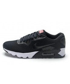 Nike Air Max 90 instructores suaves zapatos negros para hombre