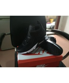 Nike Air Max 90 zapatillas de deporte Hightop trainers negros