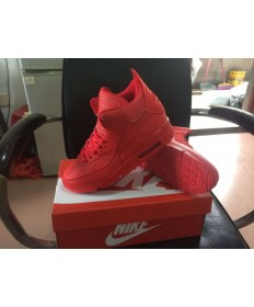 Nike Air Max 90 Hightop formadores de color rojo