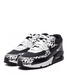 Nike Air Max 90 Prem formadores-blanco-negro leopardo zapatillas de deporte