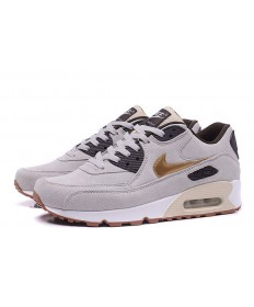 Nike Air Max 90 instructores de color gris-marrón