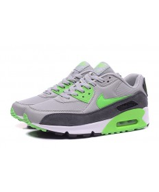 Nike Air Max 90 Zapatos de la zapatillas de color verde grisáceo