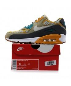 Nike Air Max 90 zapatillas de deporte PA Auqamarin-azul-amarillo