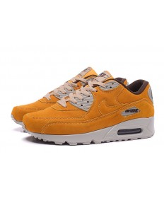 Nike Air Max 90 instructores vara de oro gris