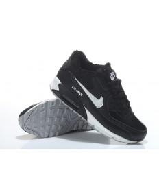 Nike Air Max 90 zapatillas de deporte de piel negro