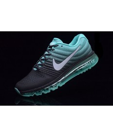 Nike Air Max 2017 formadores negro-PaleTurquoise para hombre