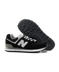 New Balance 574 zapatillas de deporte Negro, blanco para los hombre de