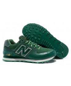 New Balance 574 zapatillas de deporte verdes para hombre