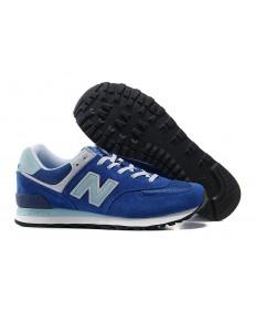 New Balance 574 trainers azul, aguamarina para los hombre de